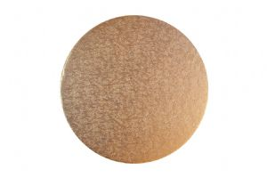"10"" Cake Board Round Rose Gold"